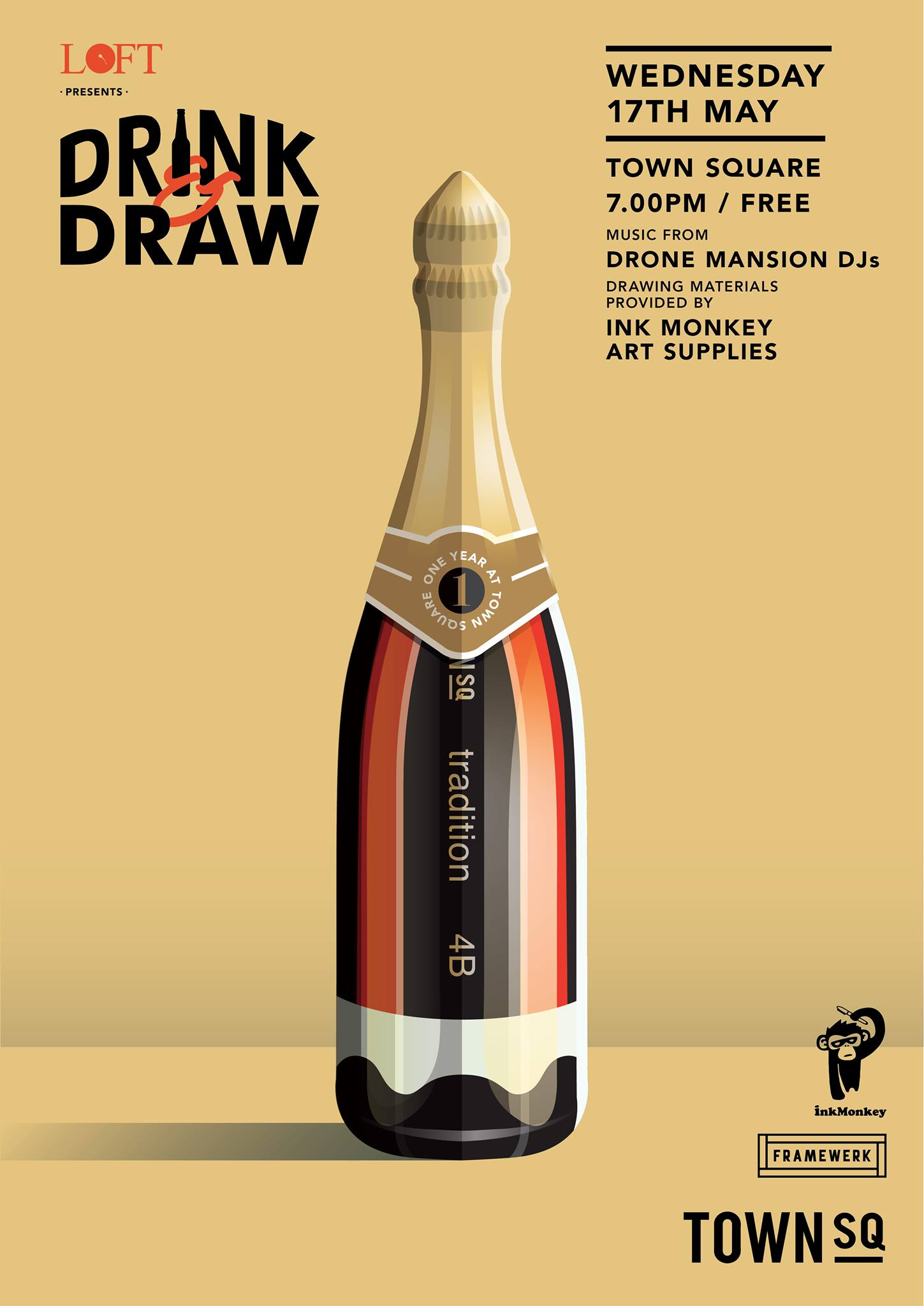 Drink & Draw by LOFT