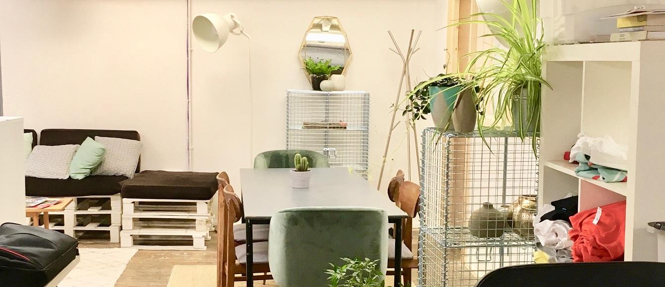 Cotton Court studio space in Belfast