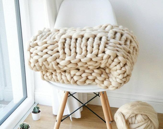 extreme arm knitting